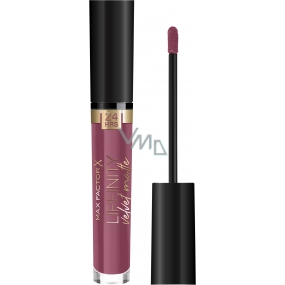 Max Factor Lipfinity Velvet Matte Lipstick Liquid Matte Lipstick 005 Merlot 4 ml