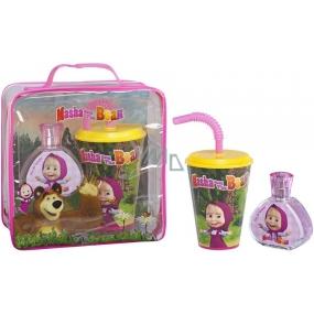 Masha and Bear EdT 50 ml Eau de Toilette + Cup, Gift Set