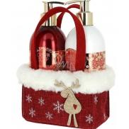 Vivian Gray Christmas RED liquid soap 250 ml + hand lotion 250 ml