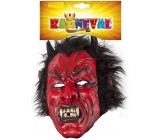 Devil / devil mask with hair