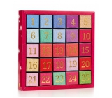 Česky Tea Shop Bio Advent Calendar Numeric 25 silk pyramids, 13 flavors, gift set