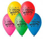 """Balloons """"Happy Birthday"""", 26 cm, 100 pieces in a package, mix of colors"""