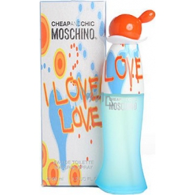 Moschino I Love Love EdT 50 ml eau de toilette Ladies