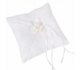 Albi Wedding Pillow for rings - roses
