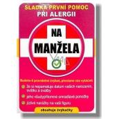 Nekupto Sladká první pomoc 2 Ovocné žvýkačky při alergii Na Manžela 10 ks 001