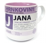Nekupto Hrnkoviny Mug with the name of Jan 0.4 liter