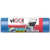 viGO! Trash bags retractable blue 35 liters 50 x 60 cm 15 pieces