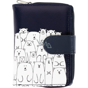 Albi Original Design wallet Bears 9 x 13 cm