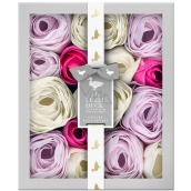 Baylis & Harding Wood Bell and Flower Meadow Fragrant Soap Leaves, Cosmetic Set