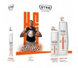 Str8 Energy Rush antiperspirant deodorant spray for men 150 ml + shower gel 400 ml, cosmetic set