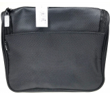 Diva & Nice Cosmetic handbag black with pocket 22 x 20 x 10 cm 90153