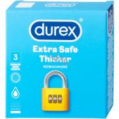 Durex Extra Safe Thicker latex condom, thicker, nominal width: 56 mm 3 pieces
