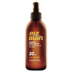 Piz Buin Tan & Protect Tan Accelerating Oil SPF30 ochranný olej ve spreji 150 ml