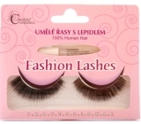 Absolute Cosmetics Fashion Lashes false adhesive lashes medium long curly black 76 black 1 pair