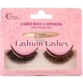 Absolute Cosmetics Fashion Lashes false adhesive lashes medium long curly black 76 black 1 pair