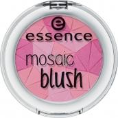 Essence Mosaic Blush tvářenka 40 The Berry Connection 4,5 g