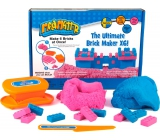 Mad Mattr Kinetic Sand Modeling Mold Create a brick of pink 140 g + blue 140 g