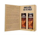 Bohemia Gifts For firefighters shower gel 200 ml + hair shampoo 200 ml, book cosmetic set
