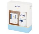 Dove Deeply Nourishing nourishing creamy shower gel 250 ml + toilet soap 100 g cosmetic set