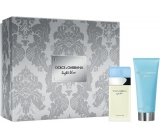 Dolce & Gabbana Light Blue EdT 25 ml Eau de Toilette + 50 ml Body Cream, gift set