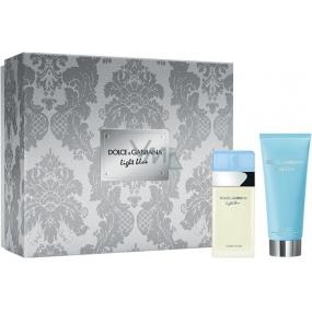 Dolce & Gabbana Light Blue EdT 25 ml Eau de Toilette + 50 ml Body Cream, gift set