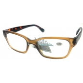 Berkeley Optical reading glasses +2,5 plastic brown 1 piece ER4198