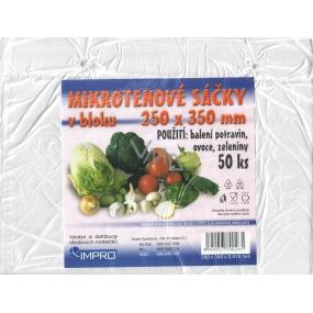 Impro Microtene bag in block 250 x 350 x 0,010 mm 50 pcs