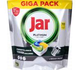 Jar Platinum All in One Lemon dishwasher capsules 70 pieces