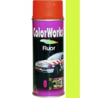 Color Works Fluor 918542 phosphor yellow nitrocellulose lacquer 400 ml