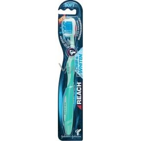 Listerine Reach Clean & Whiten Soft Toothbrush 1 piece