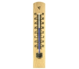 Schneider Indoor Mini Thermometer, wooden 180 x 34 mm