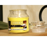 Lima Aroma Dreams Vanilla aromatic candle glass with lid 120 g