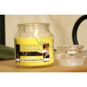 Lima Aroma Dreams Vanilka aromatická svíčka sklenička s víčkem 300 g