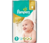 Pampers Premium Care 3 Midi 5-9 kg disposable diapers 60 pieces