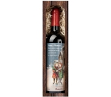Bohemia Gifts Merlot Merry Christmas 750 ml, gift Christmas red wine