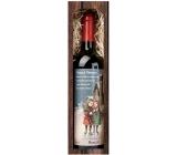 Bohemia Gifts & Cosmetics Merlot Merry Christmas 750 ml, gift red Christmas red wine