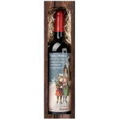 Bohemia Gifts Merlot Merry Christmas 750 ml, gift Christmas red wine
