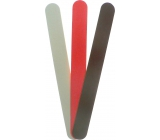 Abrasive nail file colored 18 cm 3 pieces 677