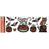 Room Decor Window foil without glue with glitters Halloween 59 x 21 cm No. 3