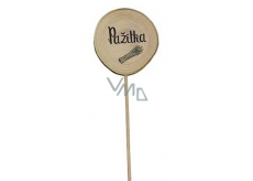 Bohemia Gifts & Cosmetics Wooden cut with herbs - Chives wheel diameter 5 - 8 cm