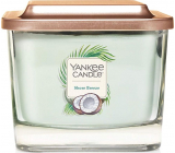 Yankee Candle Shore Breeze - Sea Breeze Soy Scented Candle Elevation Medium Glass 3 Wicks 347 g