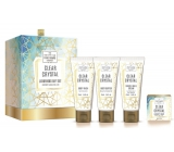 Scottish Fine Soaps Clear Crystal Body Butter 75 ml + Hand & Nail Cream 75 ml + Washing Gel 75 ml + Fine Soap 40 g Cosmetic Set