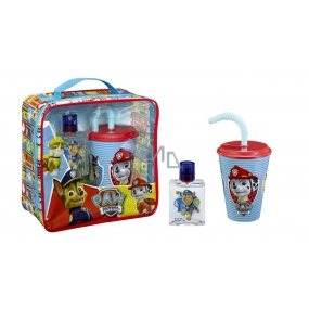 Paw Patrol Paw Patrol Eau de Toilette for Children 50 ml + drinking cup with straw, gift set