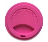 Jack N Jill Silicone crucible lid pink 8.7 x 1.8 cm