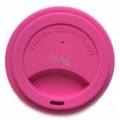 Jack N Jill BIO Silicone cup lid pink 8.7 x 1.8 cm