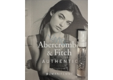 Abercrombie & Fitch Authentic Woman perfumed water 2 ml with spray, vial
