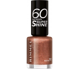Rimmel London 60 Seconds Super Shine Nail Polish nail polish 835 Royalty 8 ml