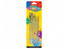 Colorino brush with wooden nozzle 6 pieces