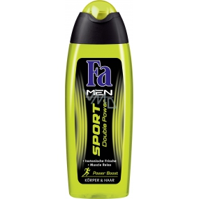 Fa Men Sport Double Power Power Boost shower gel for body and hair for men 250 ml