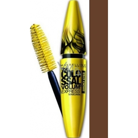 Maybelline Colossal Volume Express Smoky Eyes mascara brown 10.7 ml
